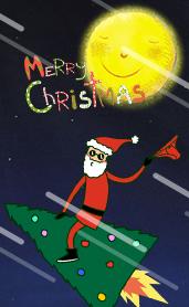 圣诞模板—我的小伙伴