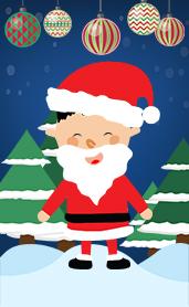 圣诞模板—圣诞老公公